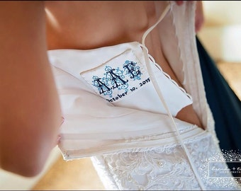 embroidered wedding dress label style 5