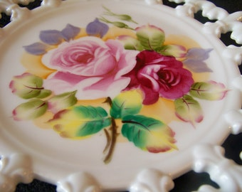 Vintage Wall Plate Set of 2