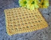 Crochet Waffle Dishcloth Dishrag Cleaning Dishes
