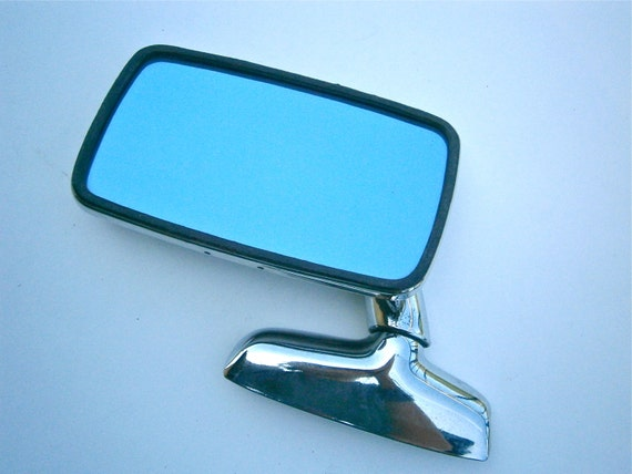 Vintage Bmw 2002 Mirror Driver Side View Frese Classic Chrome