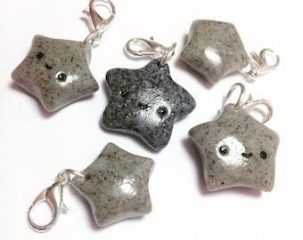 Rock Star Stitch Markers Set of 6