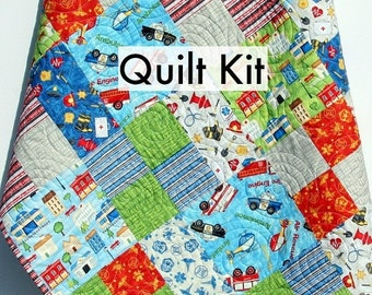 Firefighter Quilt Related Items Etsy