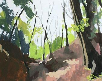 """8x10"""" print - landscape art - """"Woods 1"""""""