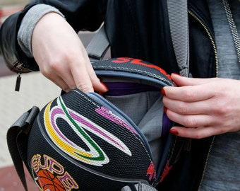 ON SALE Funky basketball bag, backpack