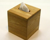 "The BlackWater TBC - Sassafras Tissue Box Cover - ""Cube Style"""
