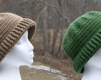 Susie Ladies Crochet Bucket Hat Pattern