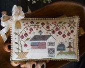 10% OFF Pre-Order John & Abigail : Plum Street Samplers Adams counted cross stitch patterns 4th of July Independence Day patriotic