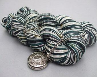 Soft Socks 4 ply Yarn Stripes. Lapwing in the Machair