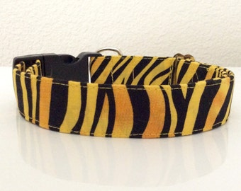 Tiger Stripes - Eco Dog Collar