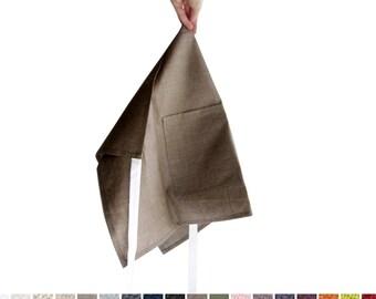 Apron Custom color linen half aprons