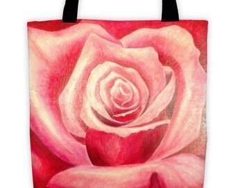 Art on a Bag by Karen Storay Tote Bag, Eco Friendly Printed Shopping Bag