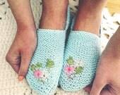 So soft slipper knitting pattern
