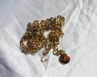 Authentic Vintage Gold chain Belt