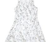 Pearl Floral Dress - Size M
