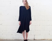 Sale 70 Off Raw Edge Dress, Black