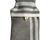 Hot Water Bottle and Cover in Grey Wool