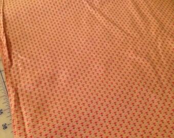 Tiny heart fabric