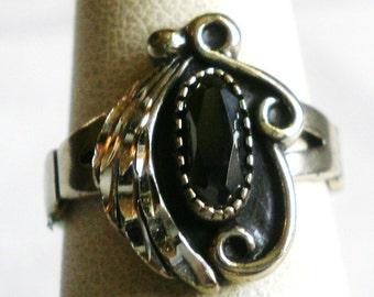 Vintage Sterling Silver Ring-Size 5 1/2