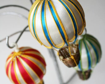 Darling Hot Air Balloon Ornaments by Distinguished Flamingo
