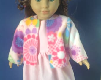 18 inch doll dress and jacket