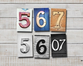 NUMBER DATE PHOTOGRAPHY, numbers  5, 6, & 7, 4x6 photo number,print only,