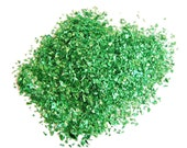 Grassy Green Sparkle Glitter: Random Cut Glitter - 1 Fl. Ounce