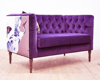 Loveseat - purple love