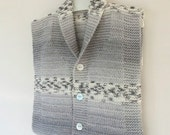 Gray baby vest, winter trends