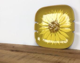 Mid Cenury ashtray Bovano ashtray vintage ashtray weed
