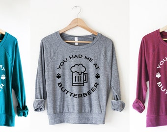 Butterbeer Pullover by So Effing Cute - Made in USA - Inspired by Harry Potter