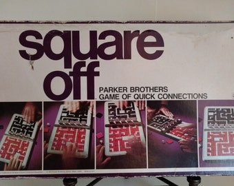 Square Off, Parker Brothers 1972