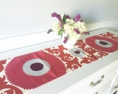 Mid size Table Runner, Table Topper, Table Cover