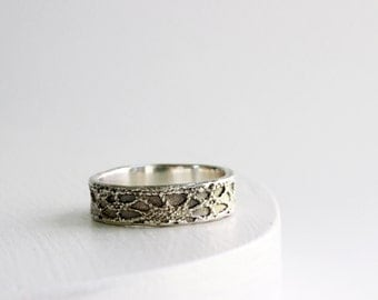 Silver Lace Ring -Style 16