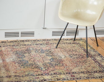DISCOUNTED 4x6 Antique Kerman Rug