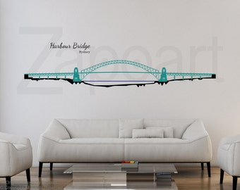 Harbour Bridge Sydney Wall Vinyl Decal Sticker