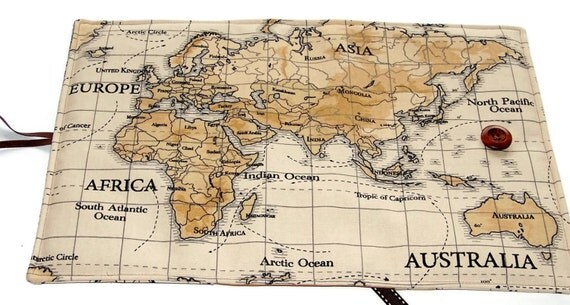 Large bible cover in world map fabric featuring australia large bible cover in world map fabric featuring australia other continents available book cover uk seller for hardbacks paperbacks sciox Choice Image