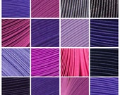 "11 Packs (Shades of Purple) 550 Strips. Culture Pop Premium Solid Color Quilling Paper Strips. 17"" Long. 1/8 1/4 1/2 inches 3 6 mm"
