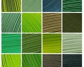 "19 Packs (Shades of Green) 950 Strips. Culture Pop Premium Solid Color Quilling Paper Strips. 17"" Long. 1/8 1/4 1/2 inches 3 6 mm"