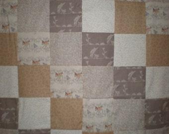 Bambi Patchwork  Quilt