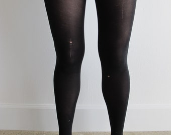 Black Tights with Holes
