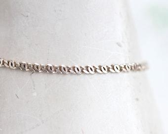 Elegant Sterling Silver Vintage Bracelet