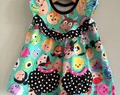 Disney Character Head Opal Tunic w/ Gathered Pockets Big Girl Sizes