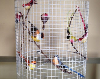 Shipping Worldwide - Birdcage Table Lamp Floor Lamp Chandelier - Made in US