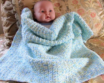 Baby afghan star stitch  Free shipping