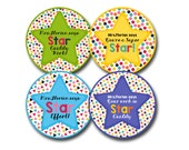 SUPER STARRY 2 Personalized stickers for Teachers