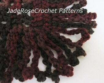 Crochet Fringe Pattern, Boho Crochet Fringe Pattern, Free Fringe Crochet Pattern, Free Crochet Pattern, Instant Download, PDF009