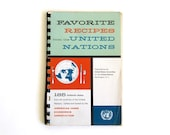 Vintage Favorite Recipes from the United Nations Cookbook 1959 Eleanor Roosevelt