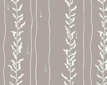 Beyond The Sea - Kelp Shroom Organic Poplin Cotton Fabric from Birch Fabrics
