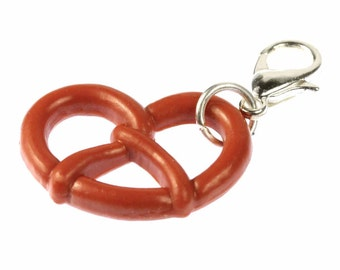 CHARM00030 Pretzel Oktoberfest Oktoberfest charm zipper pull charm pendants of Miniblings