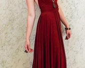 "RESERVED RUSH forAshlee Nicole Bridal Party  - 5 Custom Princess ""Infinity"" Dresses in Argelia venezia"